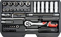 Набор инструмента 42 ед. YATO YT-14481
