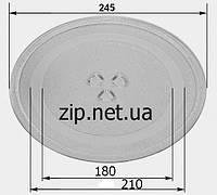 Тарелка для микроволновки 245 мм. (d 180-210mm.)