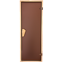 """Стеклянные двери для бани и сауны """"Tesli"""""""