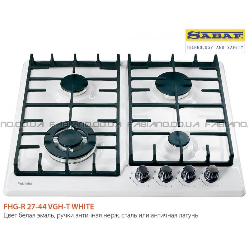 Газовая поверхность Fabiano FHG-R 27-44 VGH-T White
