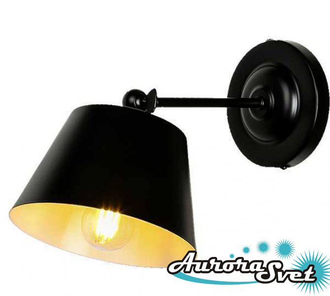 Бра настенная AuroraSvet loft 8900 чёрная. LED светильник бра. Светодиодный светильник бра.