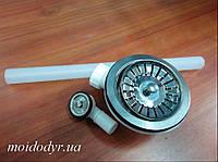 Сифон  с переливом для кухонной мойки (евро вентиль) Оптом, фото 1