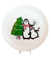 Подарочная тарелка Пингвины
