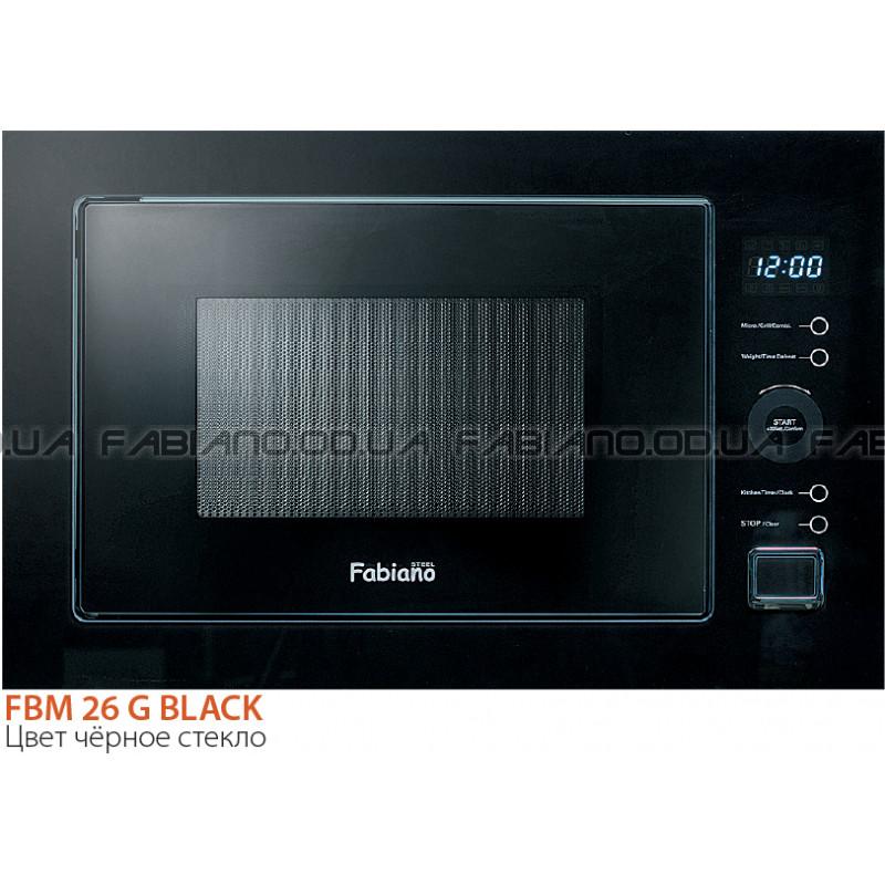 Микроволновая печь Fabiano FBM 26G Black