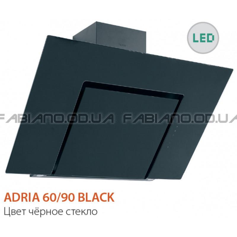 Наклонная вытяжка Fabiano Adria 90 Black