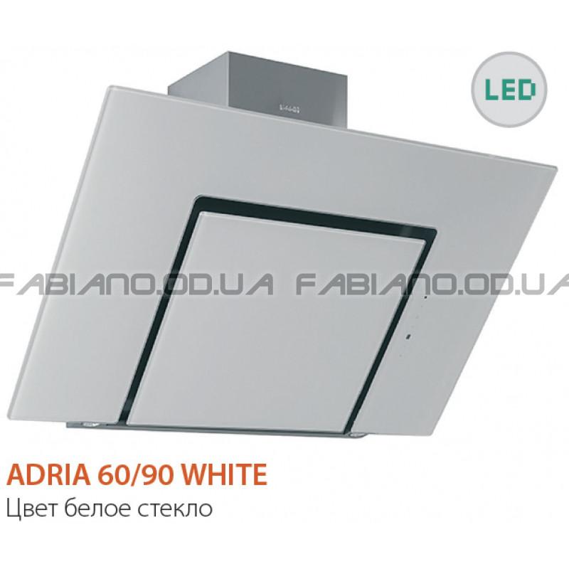 Наклонная вытяжка Fabiano Adria 60 White