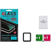 Защитное стекло для APPLE Watch 38mm (0.3 мм, 4D чёрное) Люкс