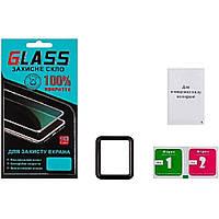 Защитное стекло для APPLE Watch 42mm (0.3 мм, 4D чёрное) Люкс