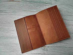 Обложка на военный билет темно-коричневая, фото 2