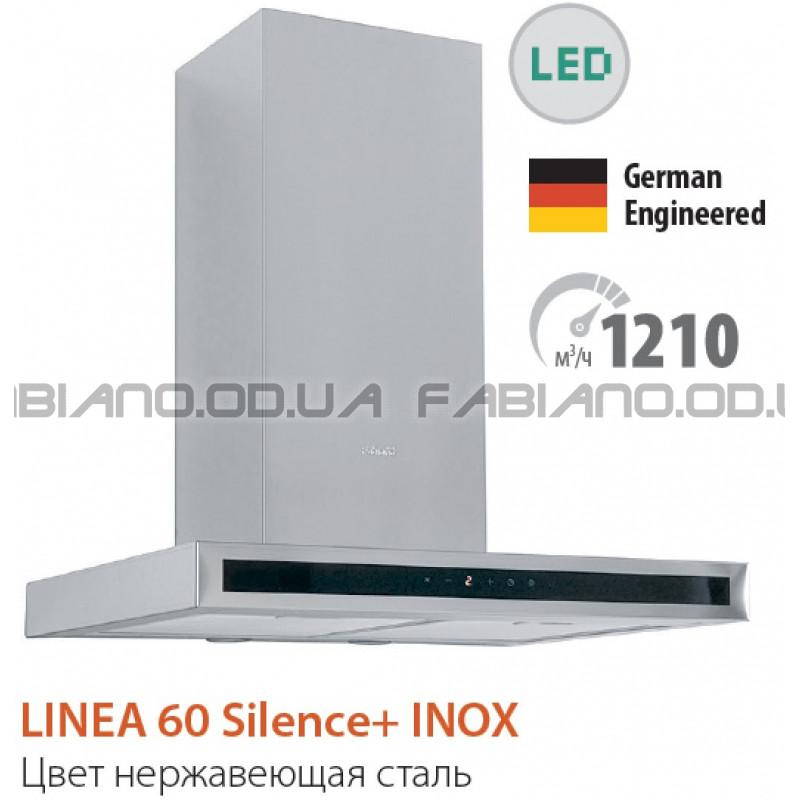 Декоративная бесшумная вытяжка Fabiano Linea 60 Inox Silence+
