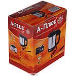 При покупке автомобильного чайника A-Plus крутая термокружка — в подарок!