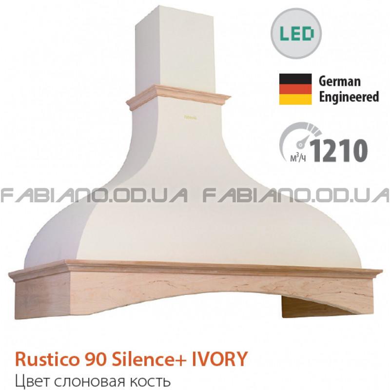 Купольная ретро вытяжка Fabiano Rustico 90 Ivory Silence+