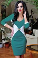 Платье 0654 / зеленый
