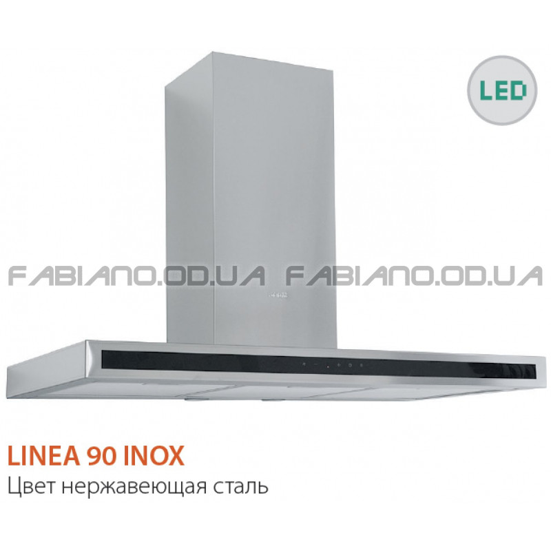 Декоративная вытяжка Fabiano Linea 90 Inox