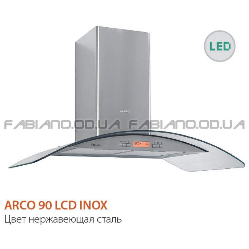Декоративная вытяжка Fabiano Arco 90 LCD Inox