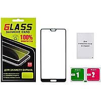 Защитное стекло для HUAWEI P20 Pro Full Glue (0.3 мм, 2.5D, чёрное)