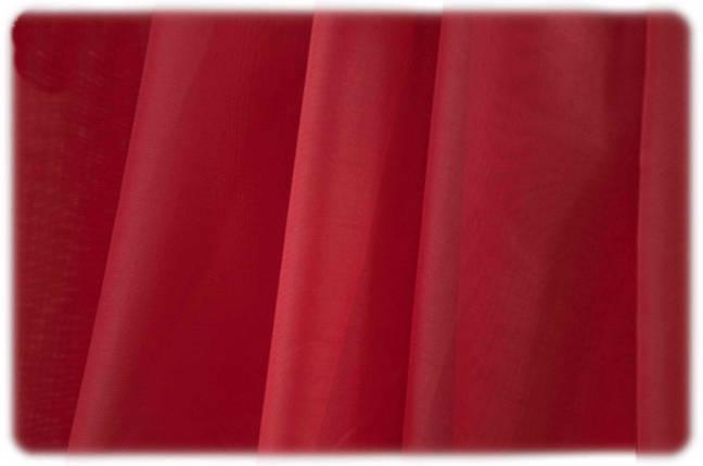 Шторный шифон Бордовый (вуаль), фото 2