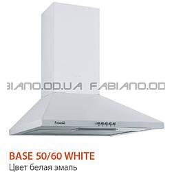 Купольная вытяжка Fabiano Base 50 White