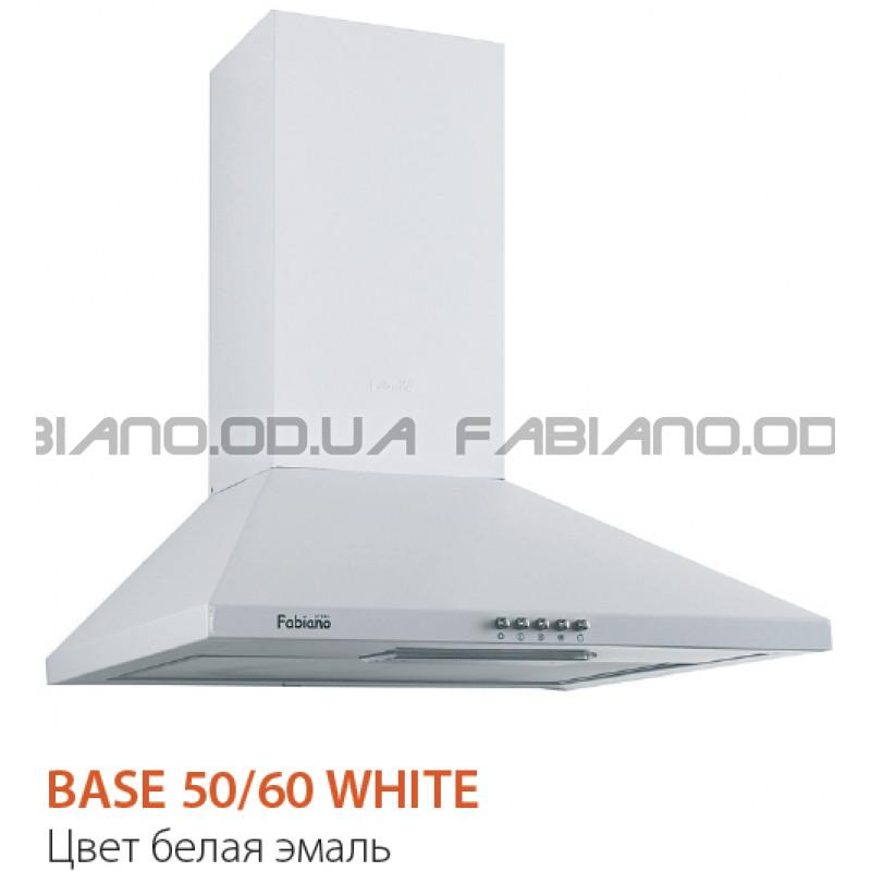 Купольная вытяжка Fabiano Base 60 White