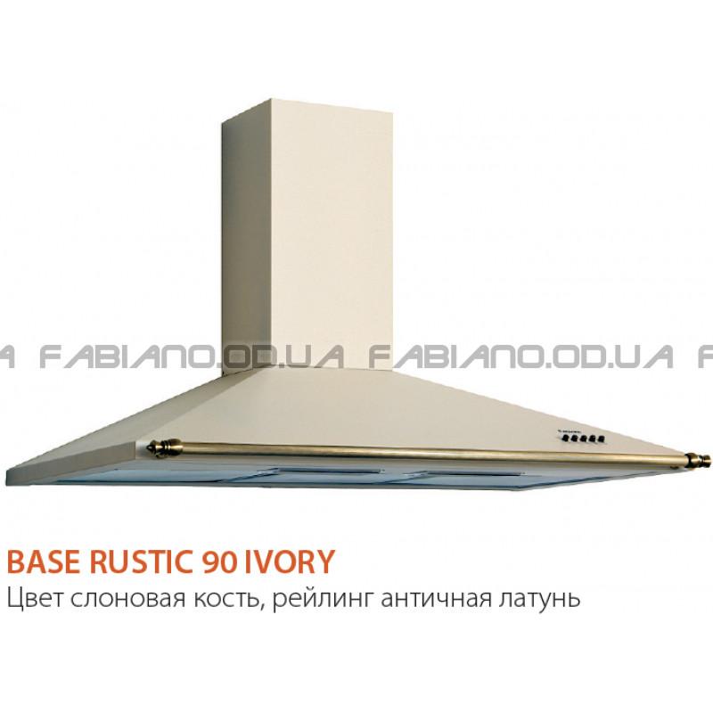 Купольная ретро вытяжка Fabiano Base Rustic 90 Ivory