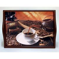 Lora Кухонный поднос на подушке «Coffee 7»
