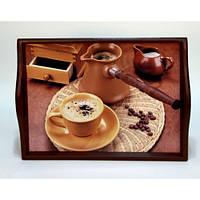 Lora Кухонный поднос на подушке «Coffee 11»