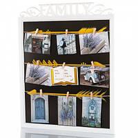 Angel Gifts Фоторамка «Рамка» с прищепками на 9 фото