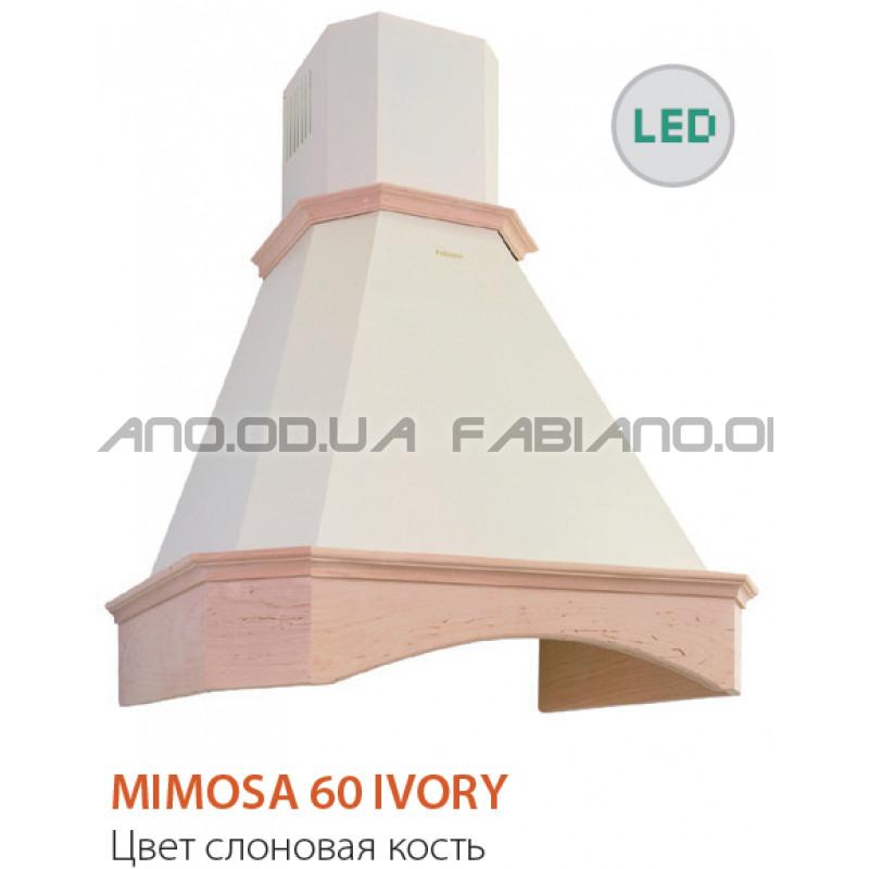 Купольная ретро вытяжка Fabiano Mimosa 60 Ivory