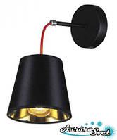 Бра настенная AuroraSvet loft 9000 чёрная. LED светильник бра. Светодиодный светильник бра.