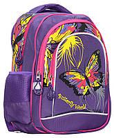 Рюкзак школьный Class Flower 38*28*18 см 15 л для девочек (8591662982909), фото 1