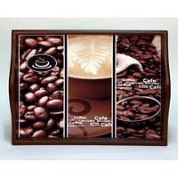 Lora Кухонный поднос на подушке «Coffee 5»