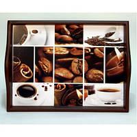 Lora Кухонный поднос на подушке «Coffee 6»