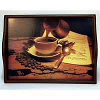 Lora Кухонный поднос на подушке «Coffee 9»