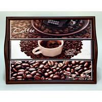 Lora Кухонный поднос на подушке «Coffee 12»