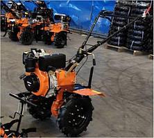 """Дизельний мотоблок Forte 1050 Orange (колесо 10"""")"""