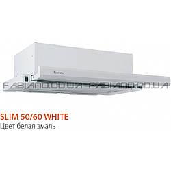 Телескопическая вытяжка Fabiano Slim 50 White