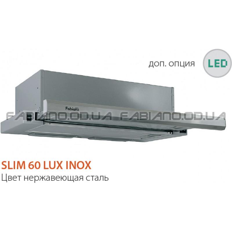 Телескопическая вытяжка Fabiano Slim 60 Lux Inox