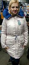 Теплая  зимняя Куртка парка женская 42-48,   доставка по Украине, фото 3
