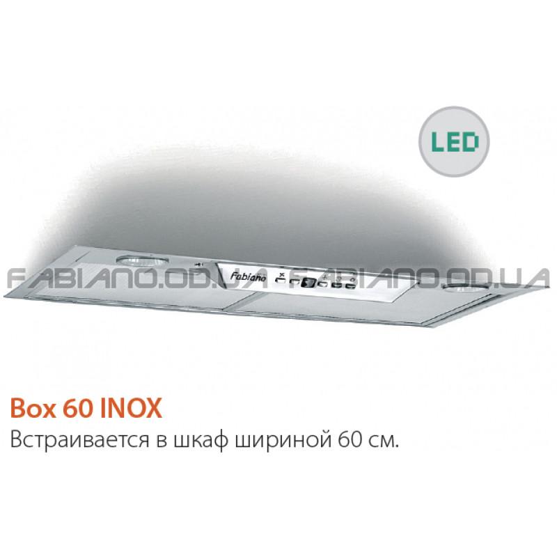 Встраиваемая вытяжка Fabiano Box 60 Inox