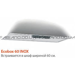 Встраиваемая вытяжка Fabiano Ecobox 60 Inox