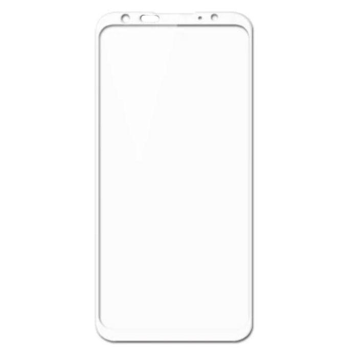 Full Cover защитное стекло для Meizu 16 Plus - White