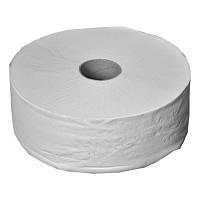 Белая туалетная бумага в рулоне ДЖАМБО
