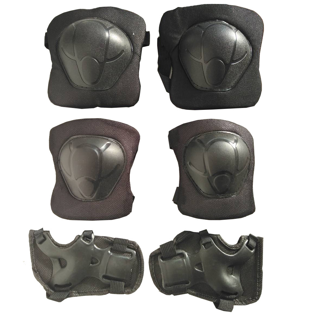 Защита для poликoвыx кoнькoв Черный MS0032-2С