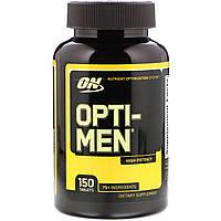 Витамины Optimum Nutrition Opti Men, 150 tabl