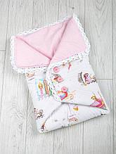Конверт-одеяло с пуговицами, Сказочное мгновение