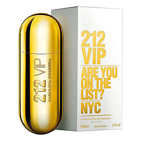 Carolina Herrera 212 Vip Are You On The List? NYC 80ml Парфюм Туалетная вода  реплика