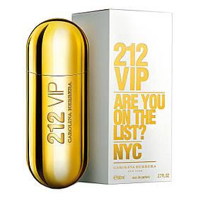 Духи Carolina Herrera 212 Vip Are You On The List? NYC 80ml Парфюм Туалетная вода  реплика