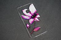 Чехол бампер силиконовый Huawei P10 lite (WAS-LX1) Хуавей с рисунком