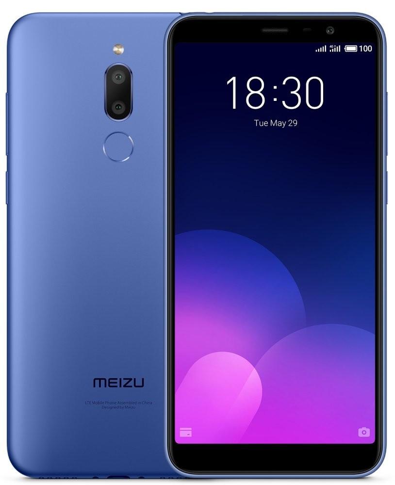 Сенсорный мобильный телефон Meizu M6T 3/32GB Blue