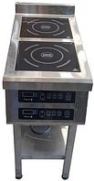 Индукционная плита Техма 2х3,5 кВт